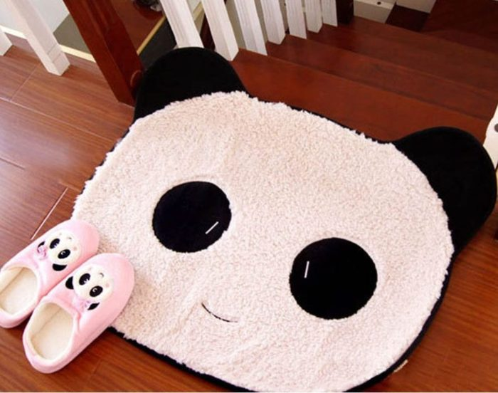 Cute Panda Kitchen Floor Mat