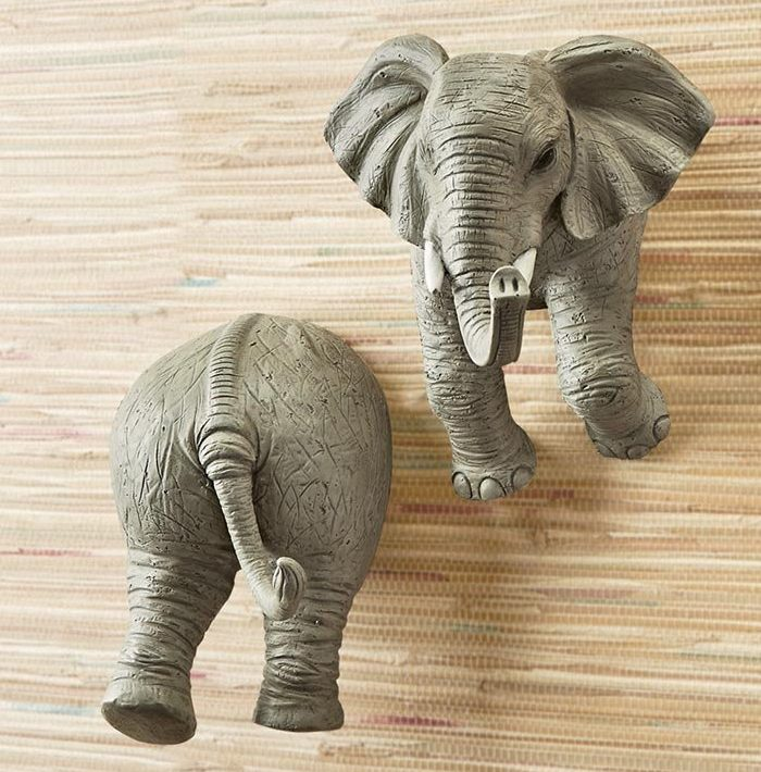 Elephant Wall Coat Hooks