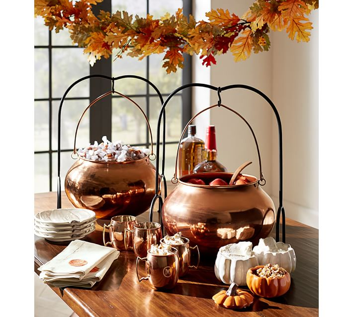 halloween-copper-cauldron