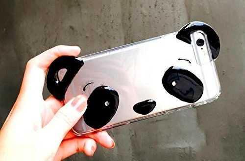 High Quality Clear Panda Case