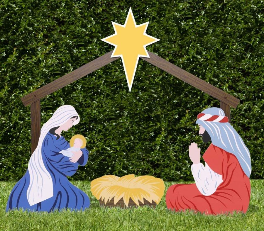Holy Family Outdoor Nativity Set