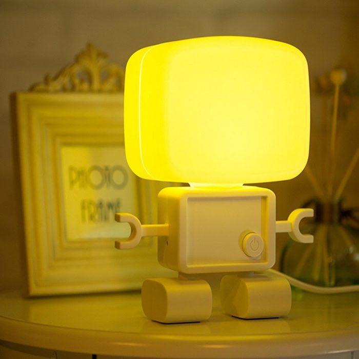 Intelligent Robot Night Table Lamp