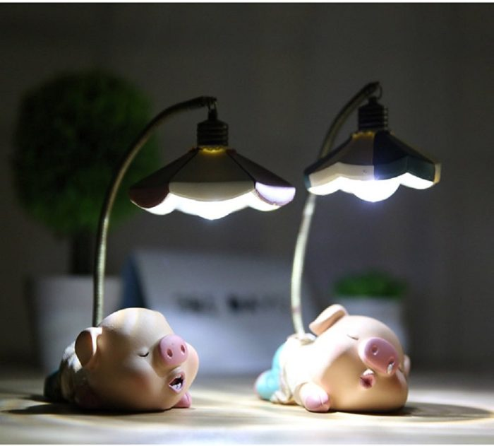 LED Pig Night Lights