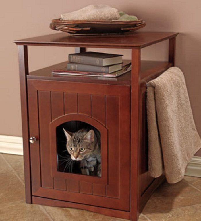 Litter Box Cat House