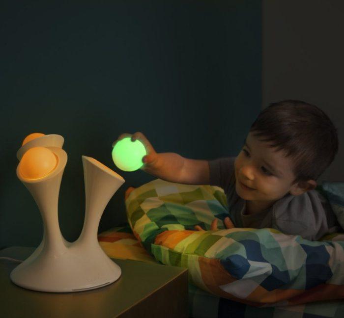 Nightlight with Portable Balls