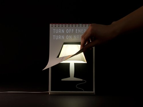 Page By Page USB Lamp