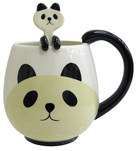 Panda Mug and Spoon