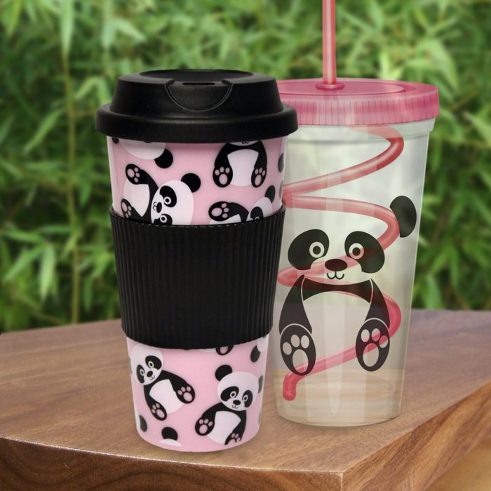 Panda Travel Cups