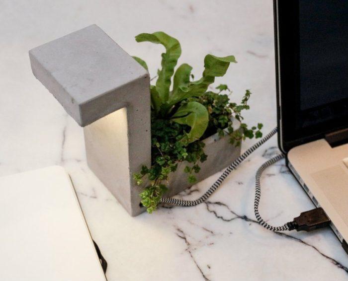 Planter LED Lamp