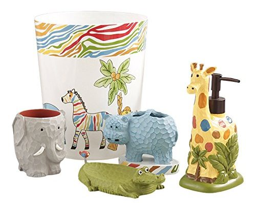 Safari Animals Bath Set