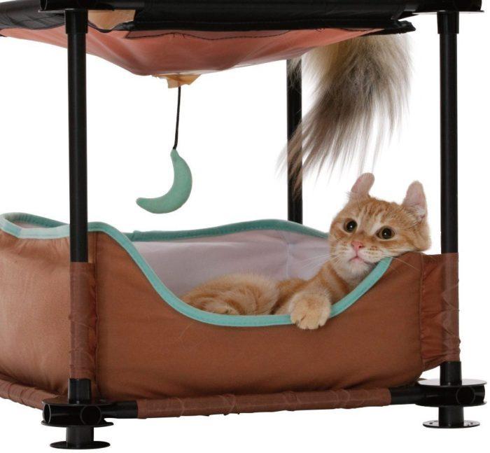 Sleeper Steel Cat Condo