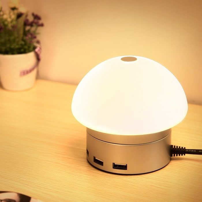 Smart Lamp with Touch-Sensitive Control