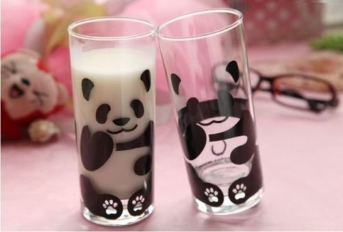 Stylish Transparent Panda Glass