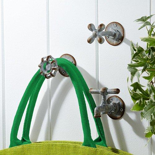 Vintage Garden Faucet Iron Wall Hooks