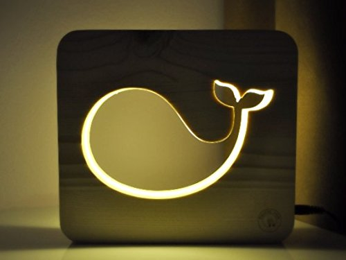 Whale Nightlights for children