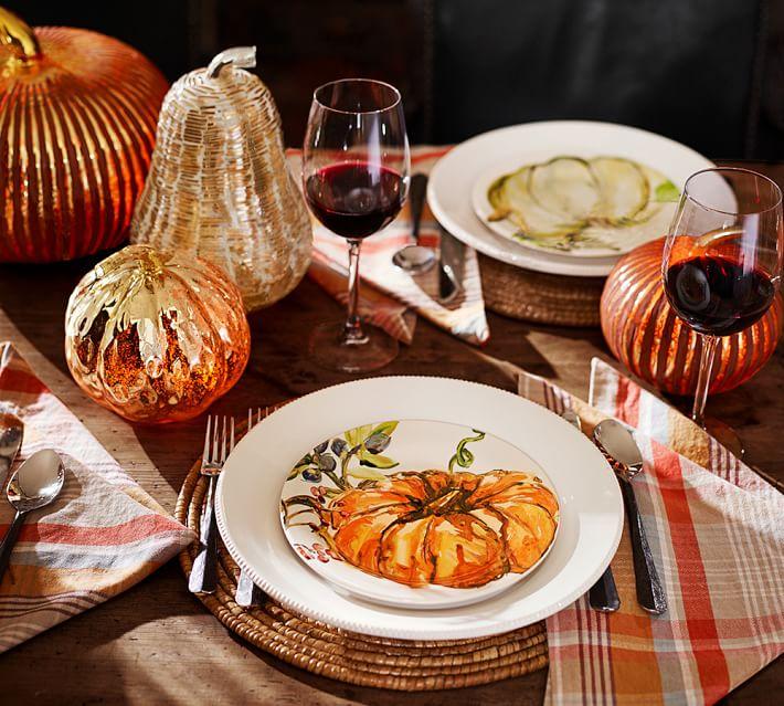pumpkin-handpainted-plates