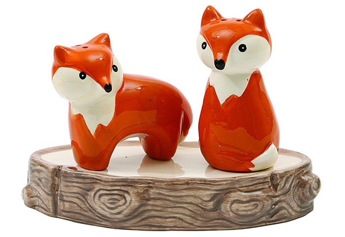 Adorable Fox Design Shakers