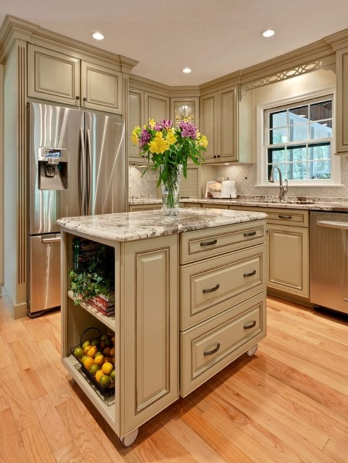 Amazing Island Kitchen Patterns For Small Kitchen Home Designing