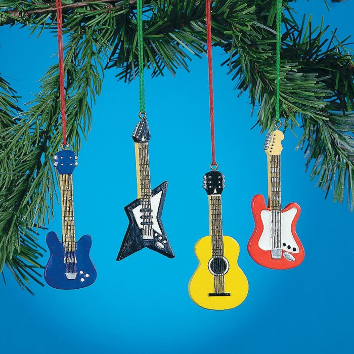Awesome Guitar Ornaments