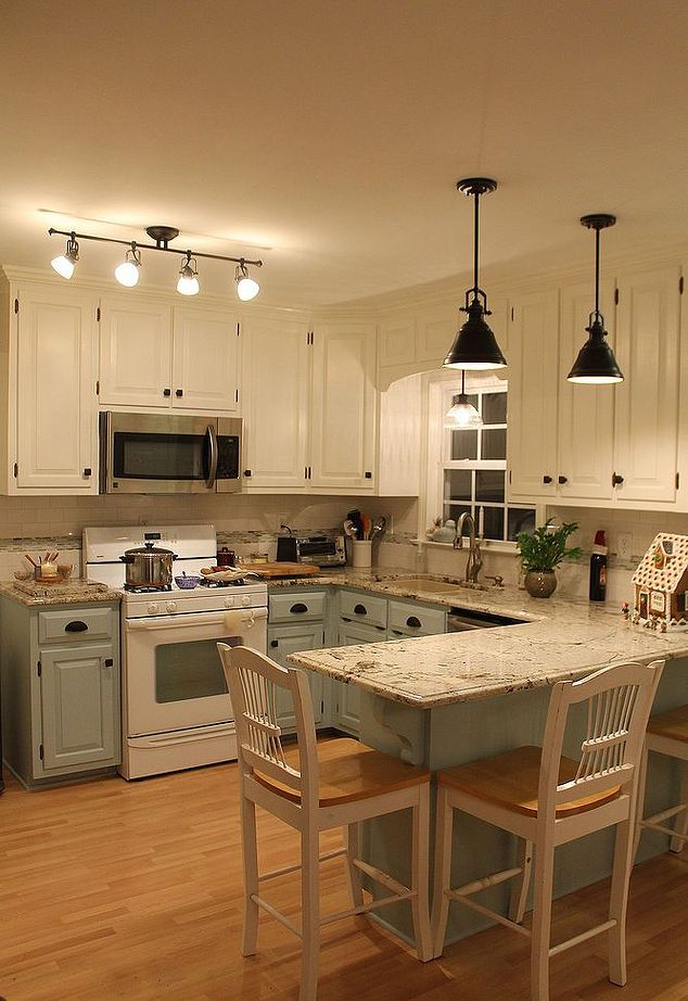 Brighter Kitchen Island