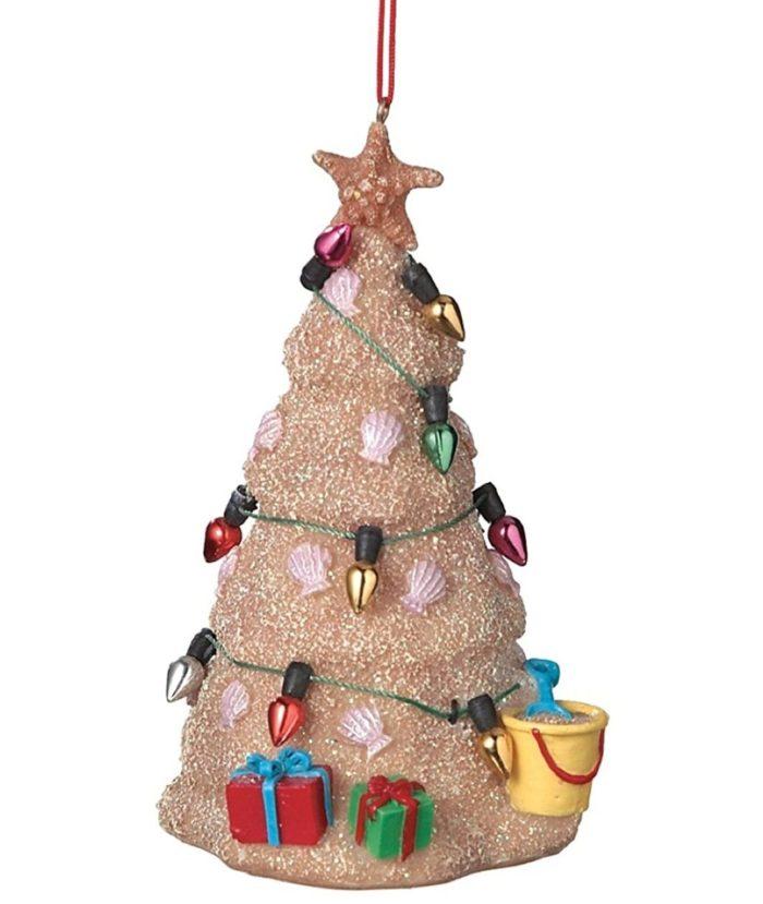 Christmas Tree Resin Ornament