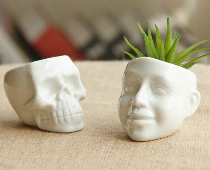 Cool Skull Capita Planter