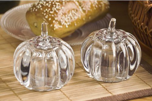 Crystal Pumpkin Shakers