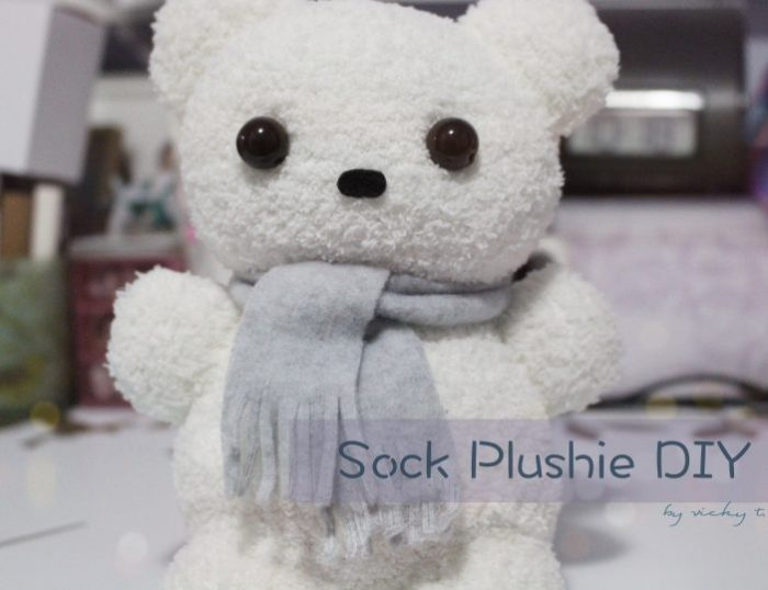 DIY Sock Bear Plushie