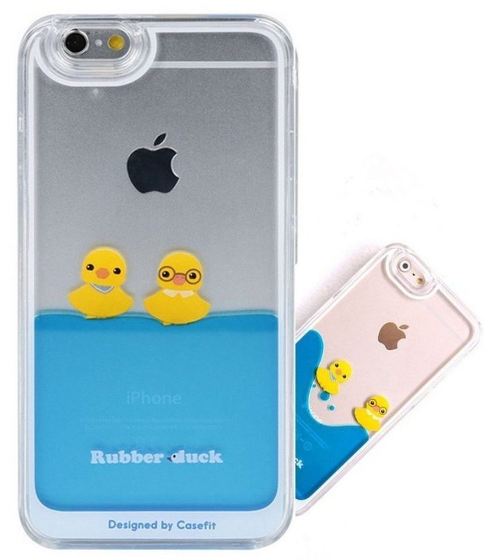 Floating Ducks Iphone Case Cover