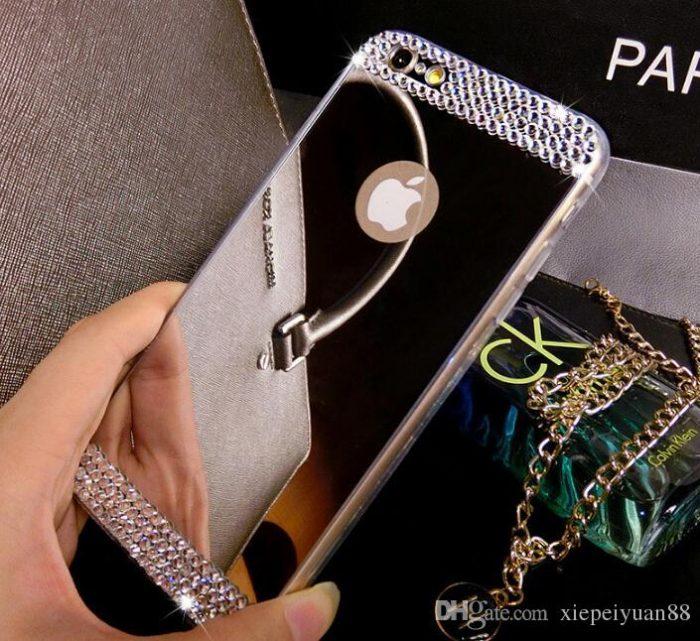Glitter Rhinestone Iphone Case Cover