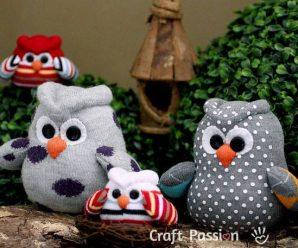 DIY 20 Cute & Adorable Socks Crafts