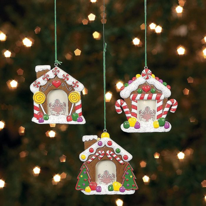 House Photo Frame Ornaments