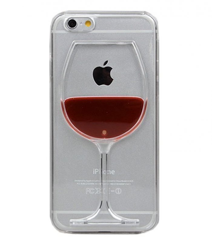 Innovative Wine Glass Iphone Case Cover