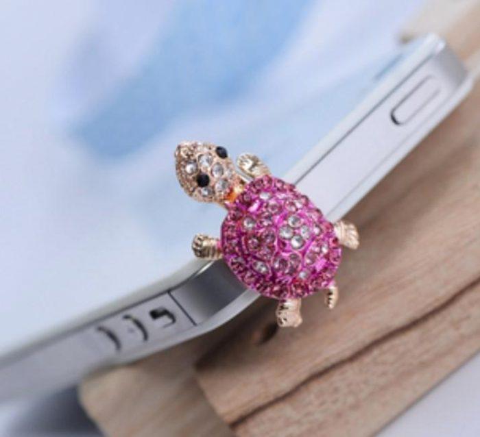 Lovely Pink Dust Plug- Earphone Jack