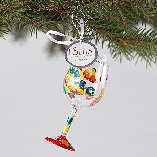 Mini Wine Glass Hanging Ornament