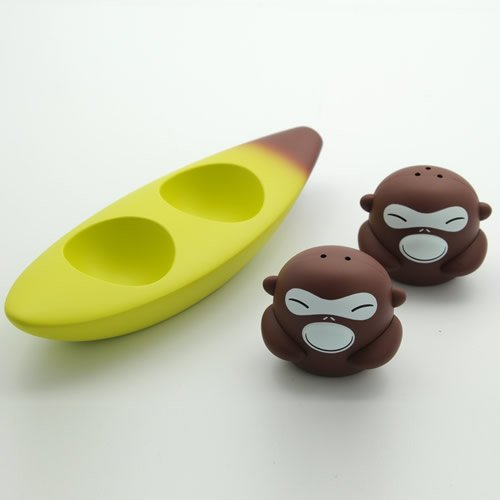 Monkey Riding Banana Boat Shakers