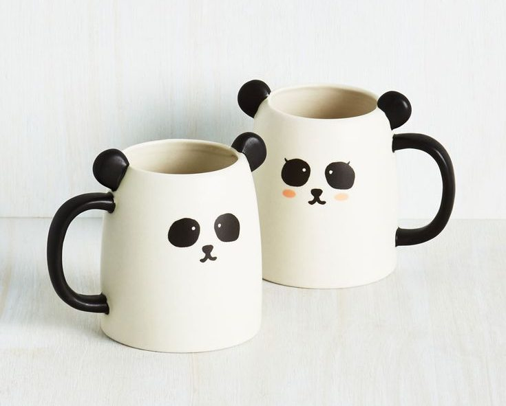 Panda Couple Mugs