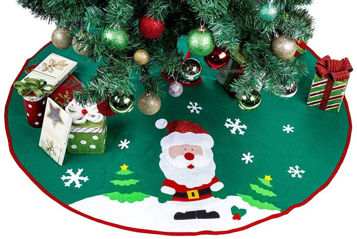 Santa Christmas Tree Skirt