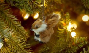 Squirrel Christmas Tree Ornaments