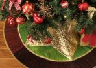 Star Pattern Christmas Tree Skirt