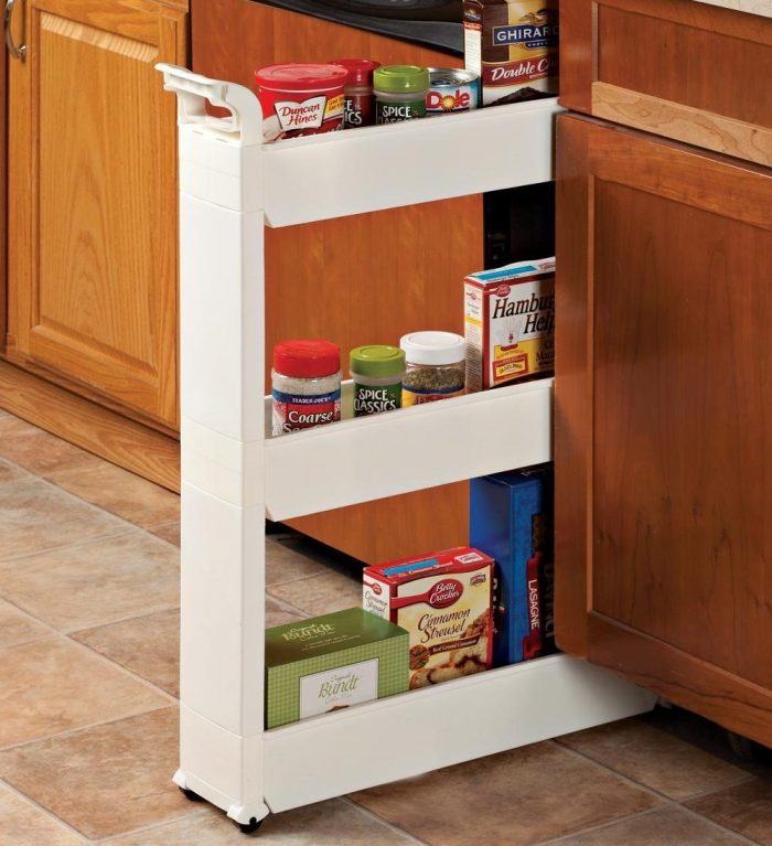3-Tier Rolling Storage Cart
