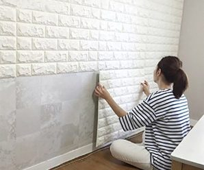 Easy Peel and Stick 3D Wall Panels for your Home