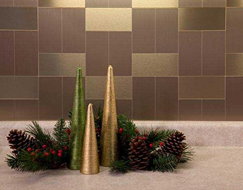 Brushed Champagne Wall Panel
