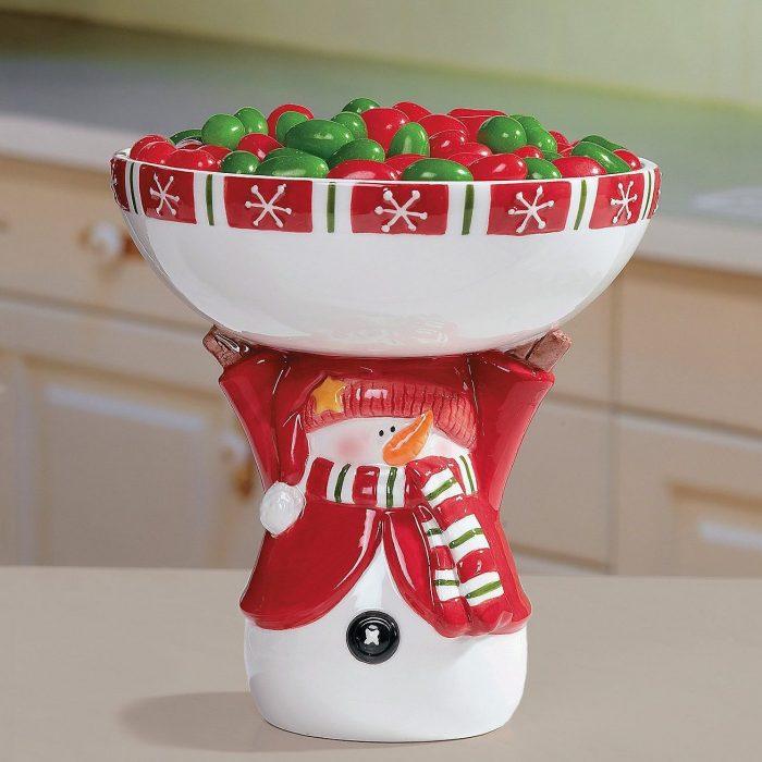 Ceramic Pedestal Bowl