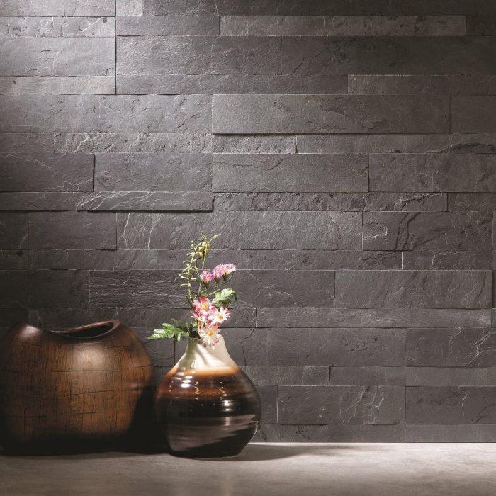 Charcoal Slate Wall Panel