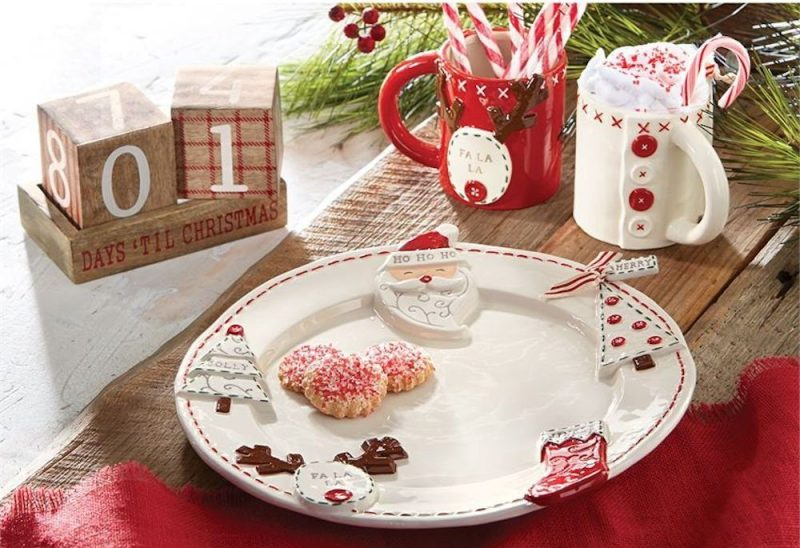 Christmas Ornament Platter