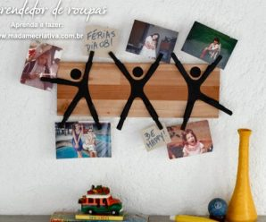 DIY Trendy & Easy Little Men Photo Holder