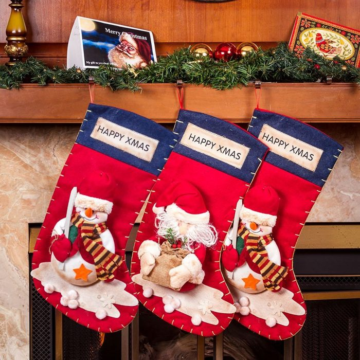 Cute Santa's Toys Stockings