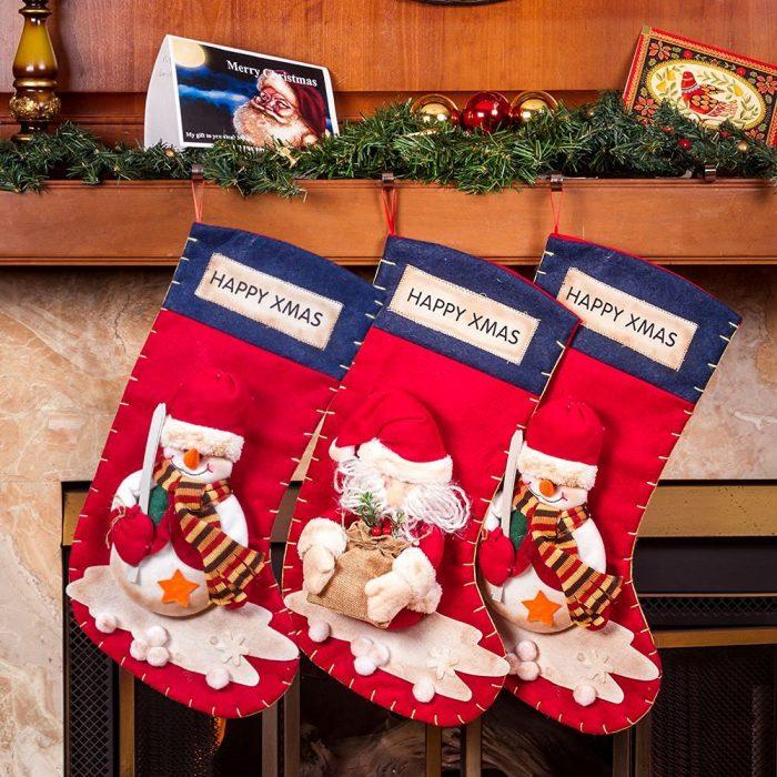 Cute Santa's Toys Stockings