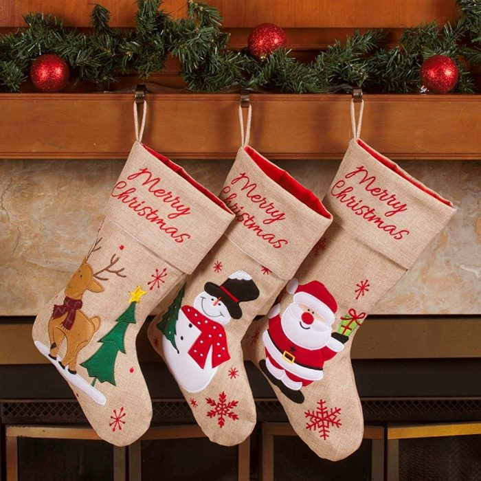 Decorative Style Christmas Stockings